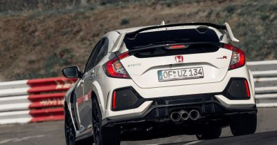 The Honda Civic Type R Has Blitzed The FWD 'Ring Record With A 7:43 Lap