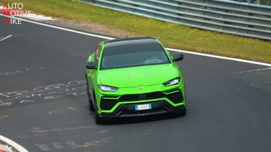 Is This A Hotter Lamborghini Urus Testing At The 'Ring?