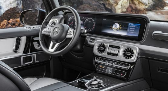 2019 Mercedes G-Class Interior Revealed, All-New SUV Debuts In Detroit