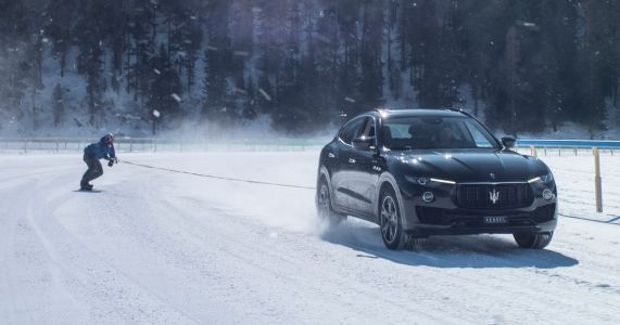 Maserati Has Helped Break A Crazy Snowboard Speed Record
