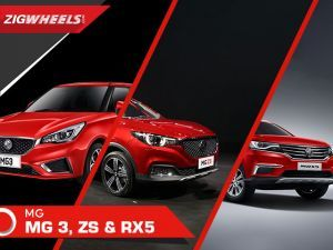 MG ZS, RX5 SUV and MG 3 Hatchback in India and Walkaround