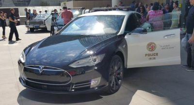 Tesla Model S Ready To Serve And Protect In Luxembourg