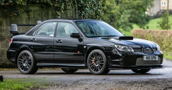 Here's Your Chance To Own Richard Burns' Co-Driver's Subaru Impreza RB320