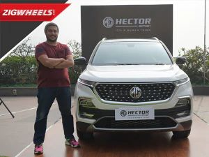 MG Hector Facelift Unveiled | Neat Nip and Tuck Is Refreshing?