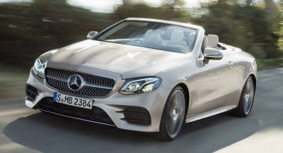 New Mercedes E-Class Cabriolet Goes On Sale In Germany, With Special 25th Ann Edition