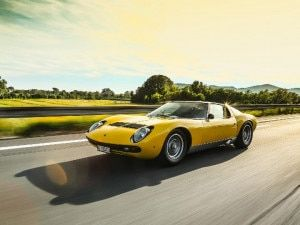 Lamborghini Celebrates 50 Years Of The Miura SV Arguably The Worlds First Supercar