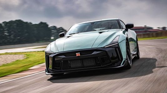 Nissan GT-R50 by Italdesign Production Version Revealed On Track