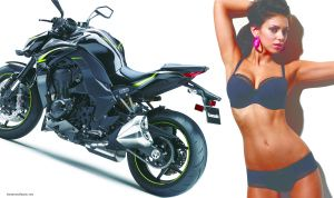 Kawasaki ups the ante in the supernaked segment with 2017 Z1000R