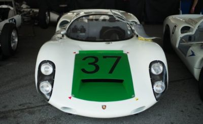 The Monterey Motorsports Reunion's Paddock Is a Crash Course in Racing History