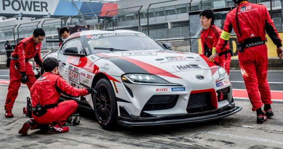 Toyota's President Is Racing A Supra At The Nurburgring 24 Hours