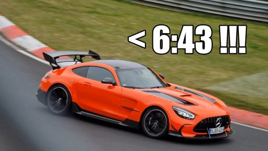 New Report Suggests Mercedes-AMG GT Black Series Has Grabbed The Nürburgring Record