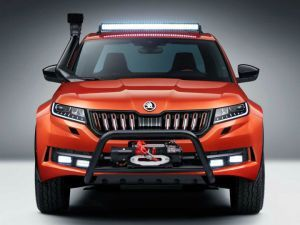 Skoda Kodiaq-based Mountainq Pick-Up Looks Apocalypse Ready