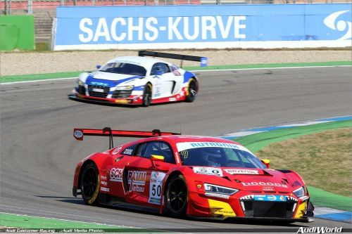 Audi Sport customers celebrate victories in Germany and New Zealand