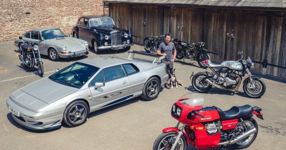 Here's Your Chance To Buy Some Of Richard Hammond's Cars And Bikes