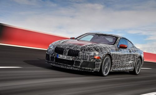 Spies Like Us: BMW Releases Images of 8-series Coupe Undergoing Testing