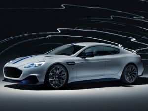 Aston Martins Rapide E Makes Its Debut At Auto Shanghai 2019