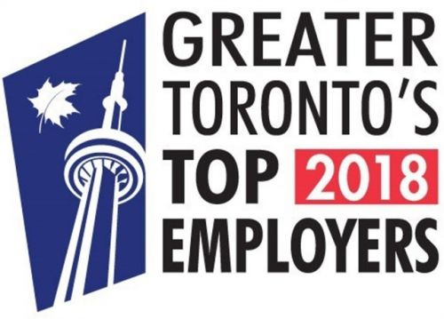 Enterprise Holdings Named One of Greater Toronto's Top 2018 Employers