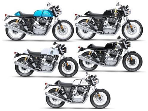 New Sporty exhaust option for the Royal Enfield Continental GT 650