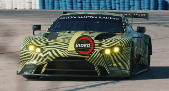 Aston Martin Unveils 9-Minute Doc Celebrating The Vantage GTE