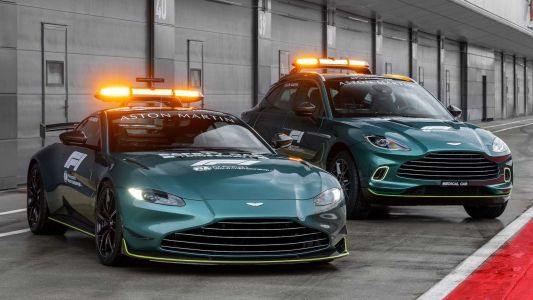 Aston Martin Reveal New Safety and Medical Car For Formula 1