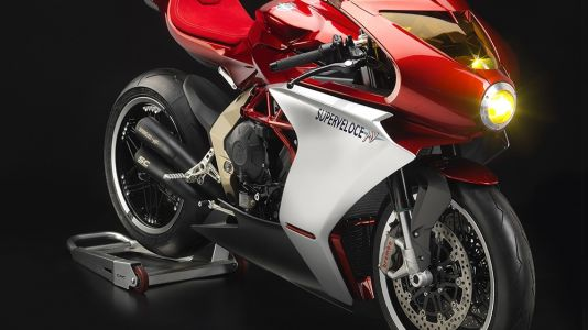 Sexiest Bike Of The Decade - First Look of the MV Agusta Super Veloce Ottocento