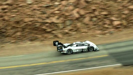 Watch The Historic Volkswagen I.D. R Pike's Peak Run From The Sky