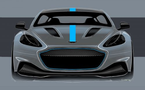 Aston Martin's RapidE To Use Fast Charging 800 Volt Battery Technology
