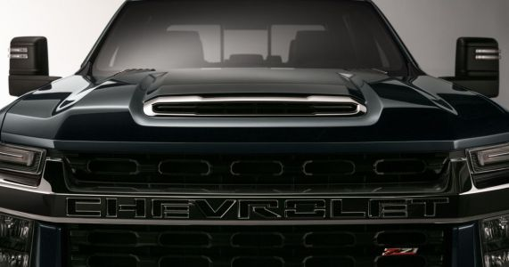 This Is Your First Teaser Of The Next Chevrolet Silverado HD Truck