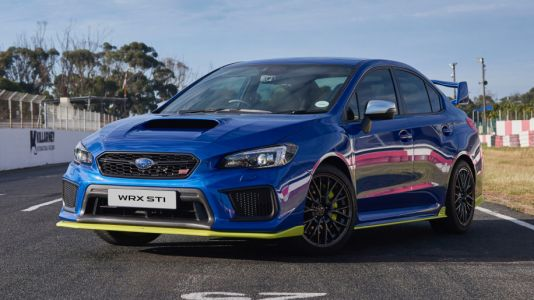 South Africa Only Subaru WRX STI Diamond Edition Revealed