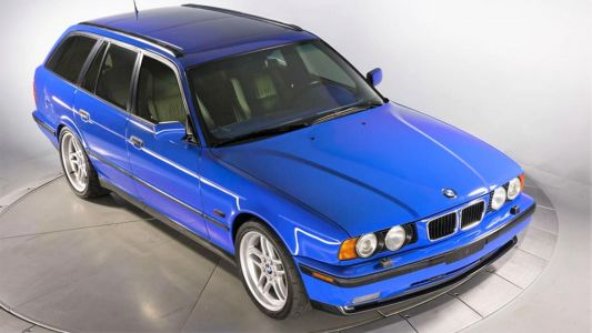 BMW M5 Wagon With McLaren F1 Engine Stored for Decades