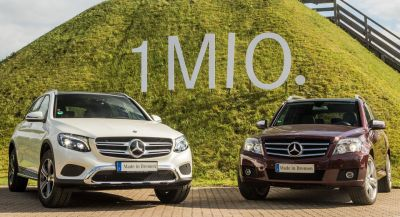 Mercedes Produces Its Millionth GLC: The Most Popular Sport-Utility Benz Ever