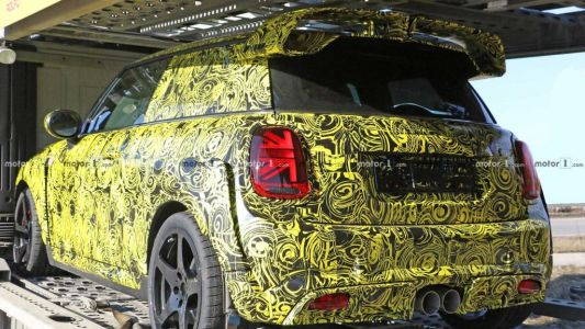 2020 Mini Cooper JCW GP Production Body Spied