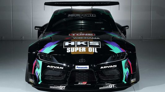 New 690 HP 2JZ-Powered Toyota Supra Headed To Drift at Goodwood