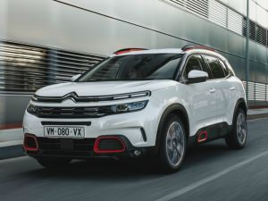 Citroen C5 Aircross In Images Jeep Compass Rival Looks Funky