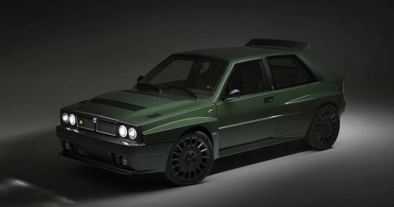 The Lancia Delta Futurista Is A €300k 'Reimagined' Integrale