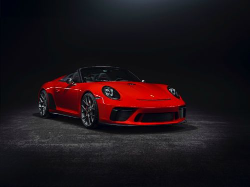 Porsche Confirm 991.2 911 Speedster Is Going Into Production With New Red Concept