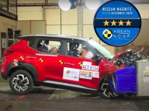 Nissan Magnite Scores 4 Stars In ASEAN NCAP Crash Test