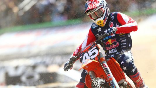 Troy Lee Designs/Red Bull/KTM's Smith Earns Fourth Podium Finish with Runner-Up in Foxborough
