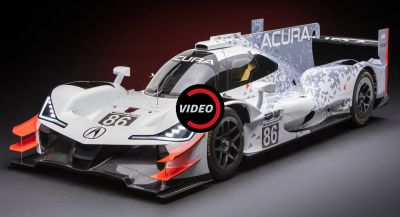 Acura Unveils Its New ARX-05 Prototype Race Car