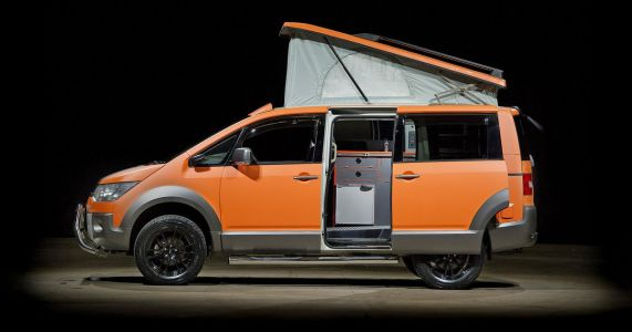 This Lifted Mitsubishi Delica Camper Is Our Kind Of Mobile Home