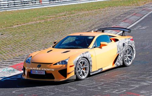 Mystery Lexus LFA Mules Spotted at The Nurburgring
