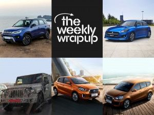 Top 5 Car News Of The Week Datsun GO and GO BS6 Launch Toyotas Vitara Brezza 2020 Thar Updates 2020 Swift Facelift Leaked And Carmakers That Resumed Operations In India