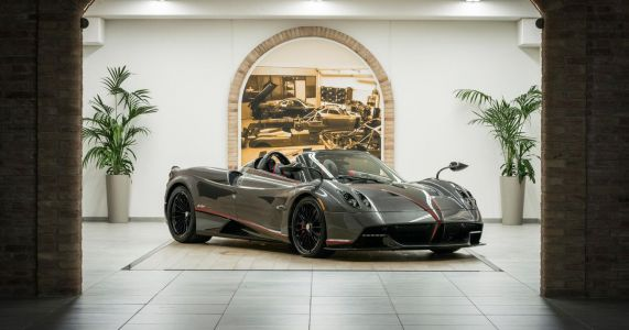 Now You Can Lease A Pagani Huayra Roadster. For $25k A Month