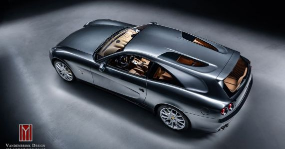 A Coachbuilder Has Turned The Ferrari 612 Scaglietti Into A Shooting Brake