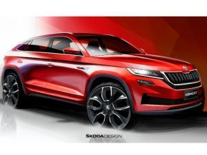 Skodas Kodiaq To Get Coupe Treatment For China