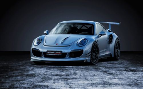 Gemballa 8XX EVO-R Biturbo Packs 818 HP