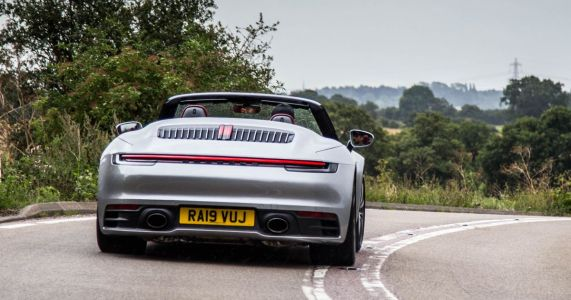 Porsche 911 Carrera 4S Cabriolet Review: Stay For The Chassis, Not The Noise