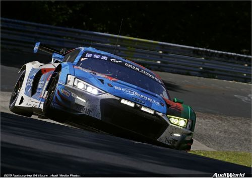 Audi Sport wins 24 Hours of Nürburgring for the fifth time