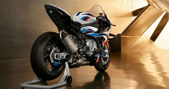 This 210bhp Weapon Is The First BMW M Motorbike