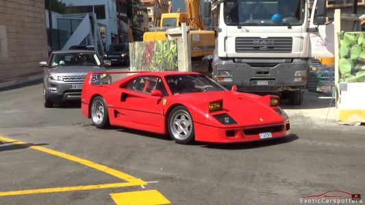 Enjoy FerrariFriday With A Straight Piped F40 In Monaco